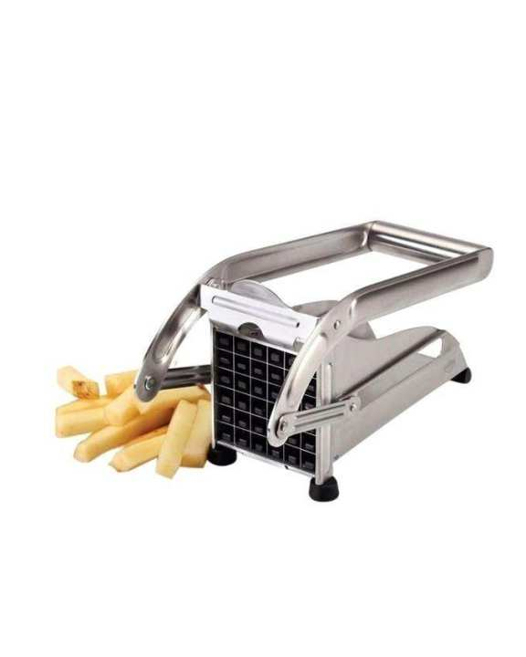 Potato Chopper For French Fries - Silver