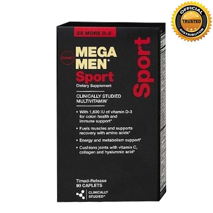 Mega Men Sport - 90 Caplets