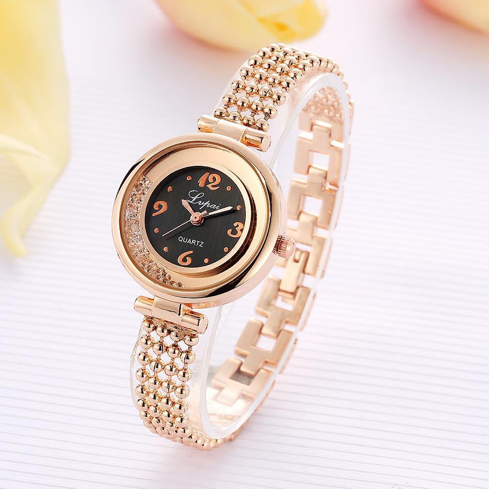 Stainless Steel Bracelet Watches Ladies Quartz Dress Casual Gift Watches Women