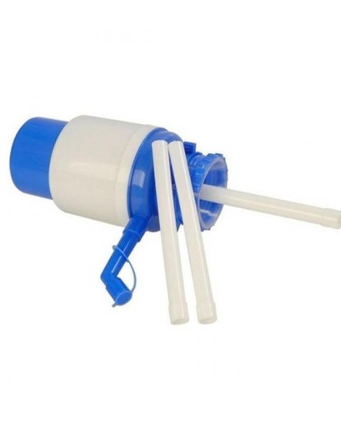 Manual Water Jar Hand Pump - White & Blue