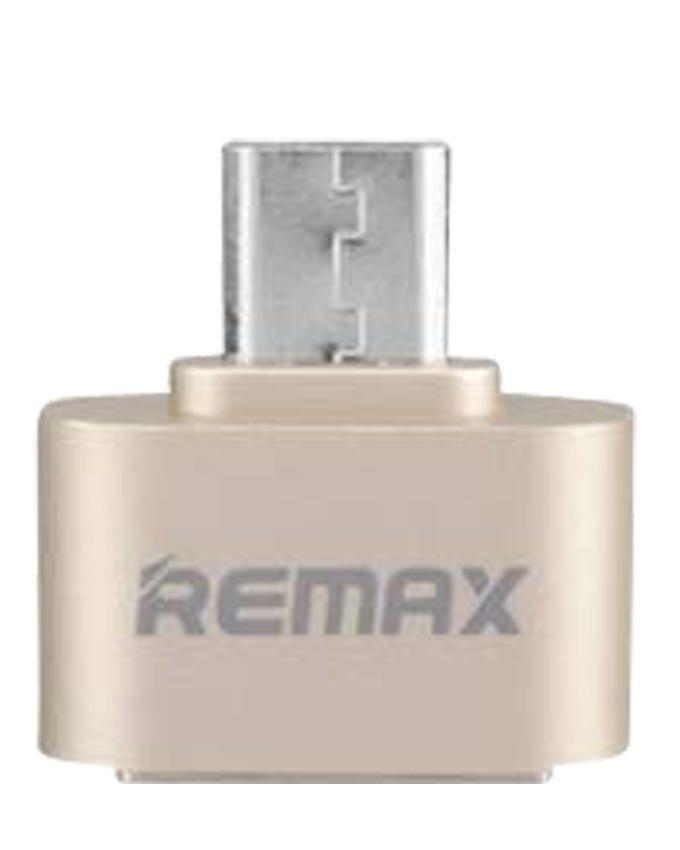 Micro USB OTG Plug for Android Mobile - Gold