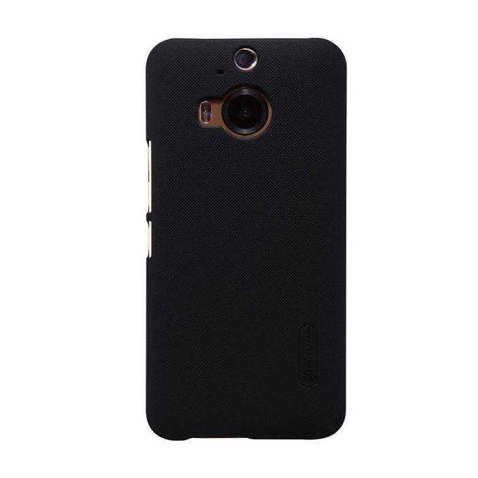 HTC One M9+ Super Frosted Shield Back Case - Black