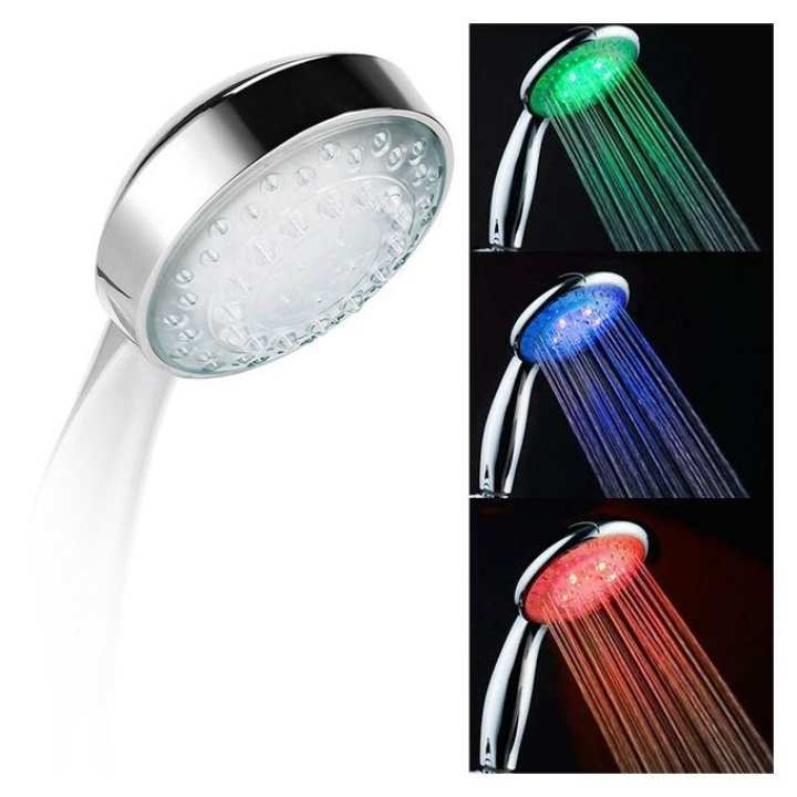 Led Illuminated Shower Head