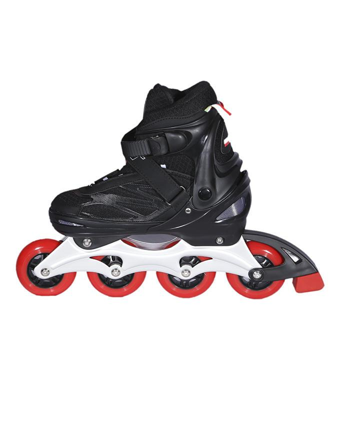 Inline Skater - Black and Red