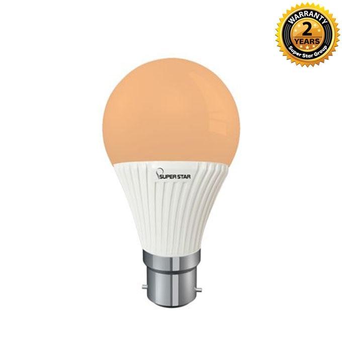 09W B-22 LED LUX Bulb - Warm