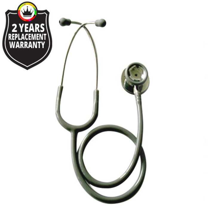 JT S747PF / Cardiology Stethoscope Stainless Steel - Color: Grey