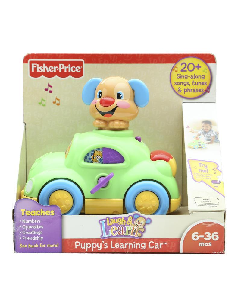 Fisher-Price Puppys Learning Car - Multicolour