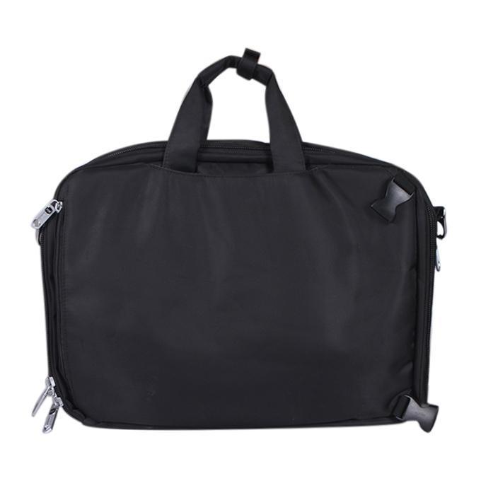 Black Polyester Office Bag For Men