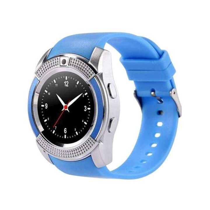 V8 N Super  Smartwatch - Blue