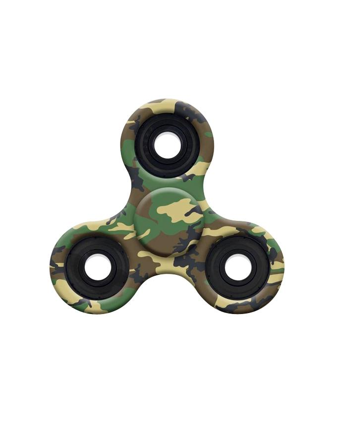 EDC Printed Fidget Spinner Stress Reducer Toy – Army Printed