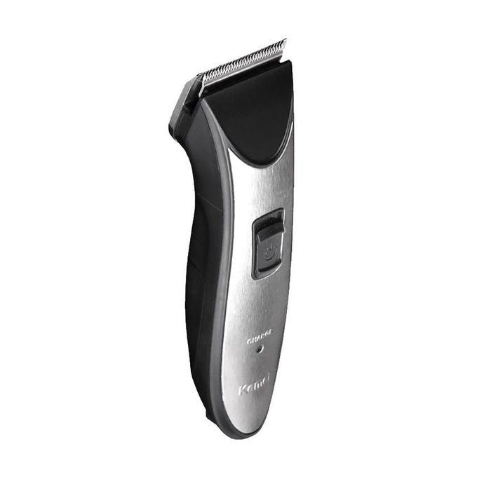 KM-3909 Electric ClipperTrimmer - Black and Silver