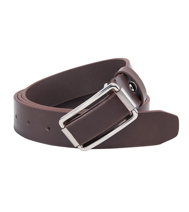 55777 Coffee Formal Belt For Men