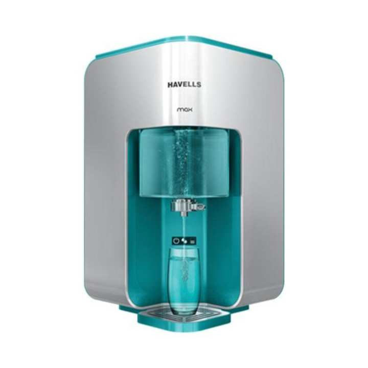 Max Mineral RO Water Purifier - White and Sky Blue