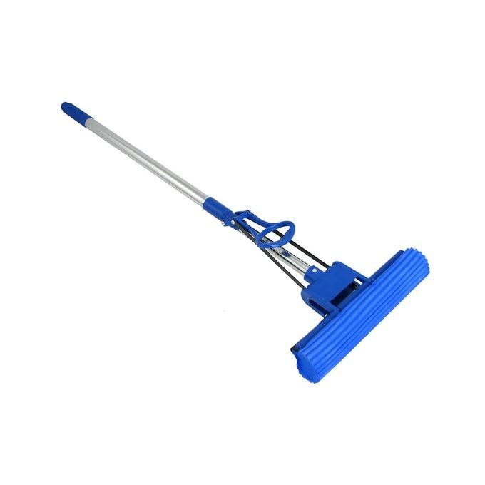Stainless Steel Double Roller Steel Mop - Blue