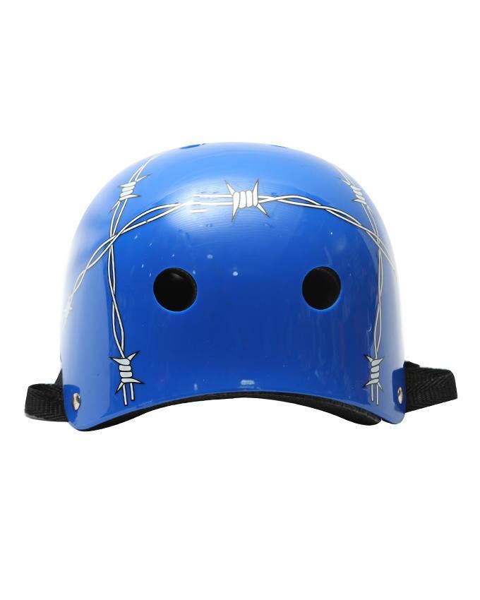Cycle Helmet - Wire blue