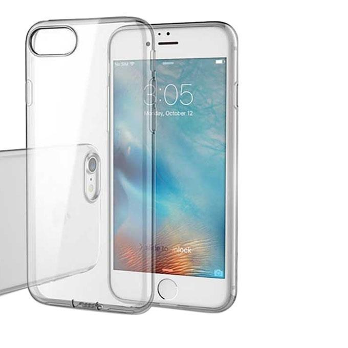 2-in-1 Transparent Case + Tempered Glass - Transparent