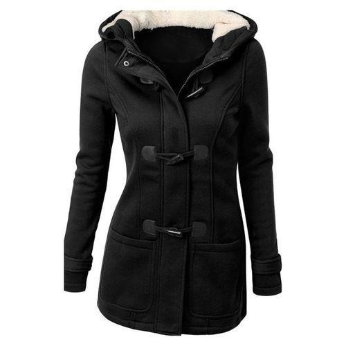 Long Sleeve Hooded Cardigan Coat for Women