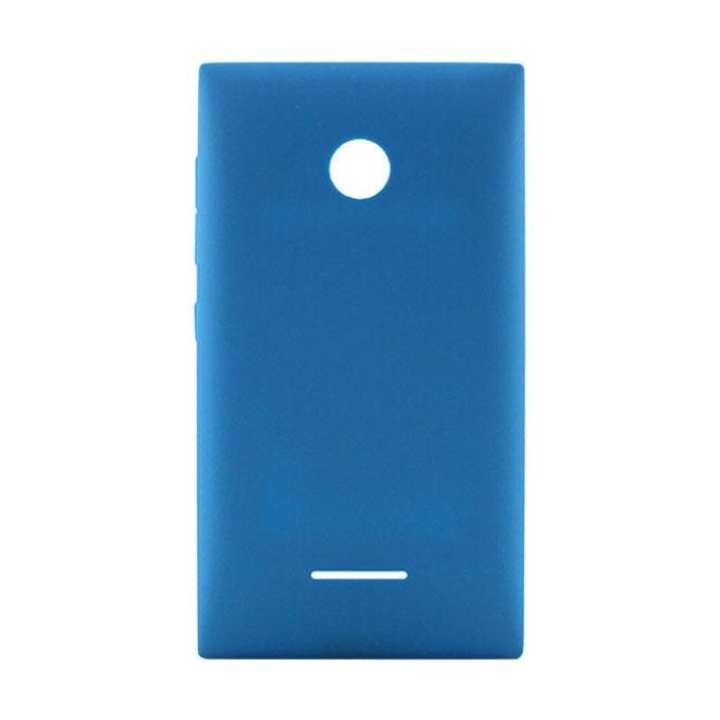 Back Shell Cover Case for Microsoft Lumia 435 - Blue