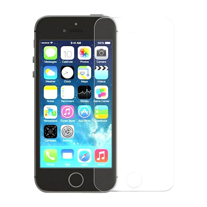 Front and Back Tempered Glass for iPhone 5 and 5s - Transparent
