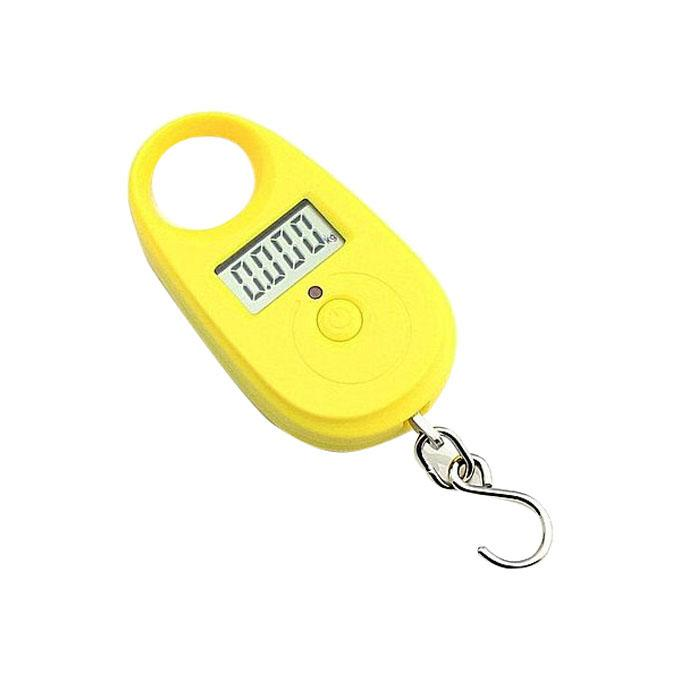 Electric Portable Scale - Yellow