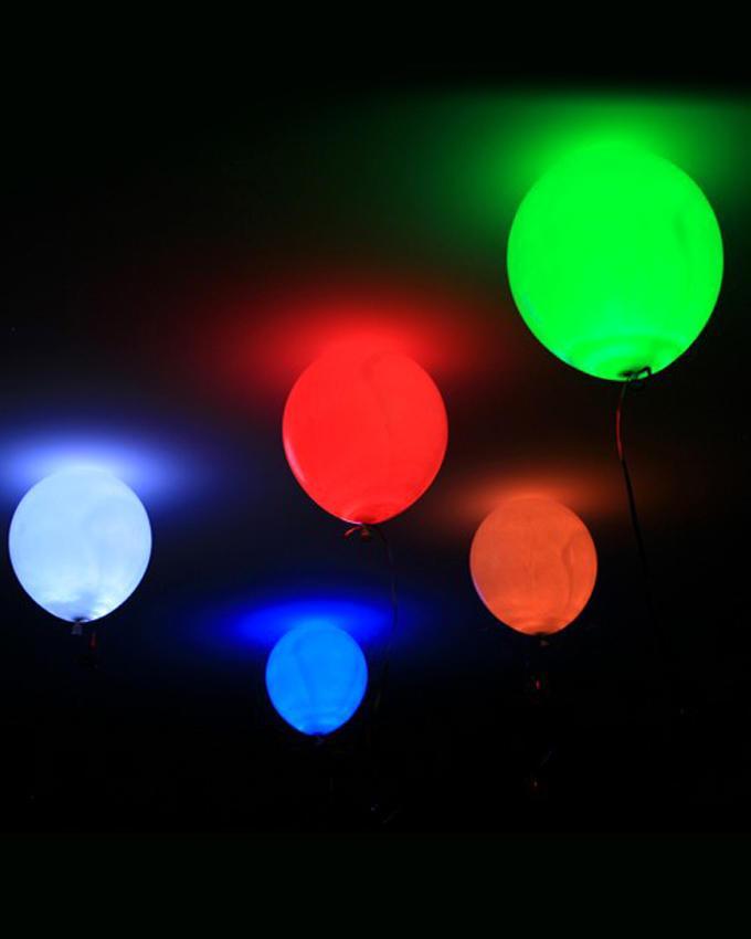 Magic LED 5 Pcs Balloons - Multicolor