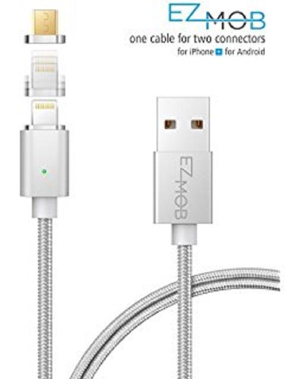 3 In 1 Magnetic Cable - Silver