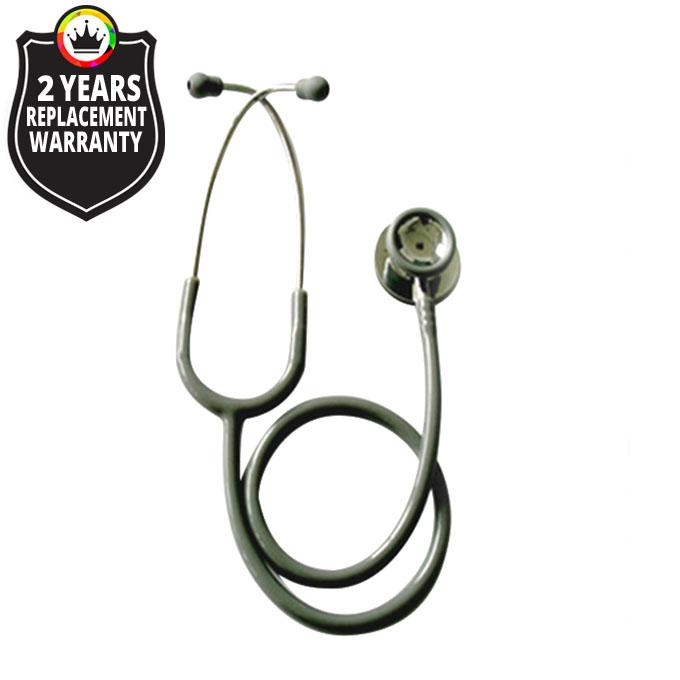 JT S606PF / Pediatric Stethoscope Dual Head Stainless Steel - Color: Grey