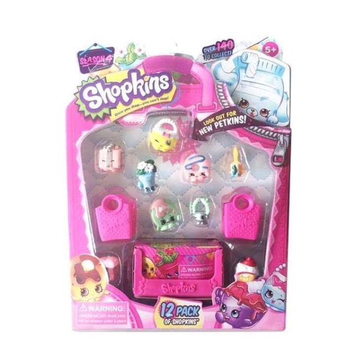 Baby Girl Supermarket Toy - Pink