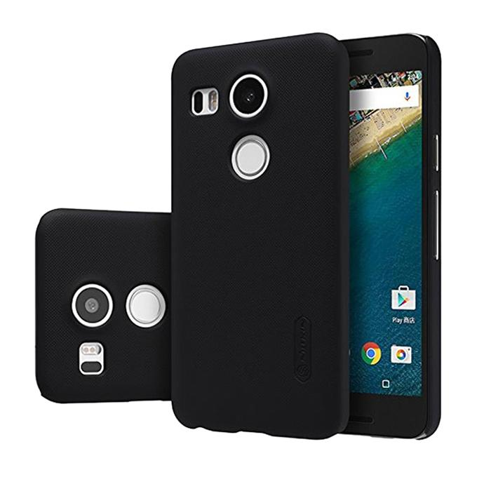 Super Frosted Shield Back Cover for LG Nexus 5X - Black