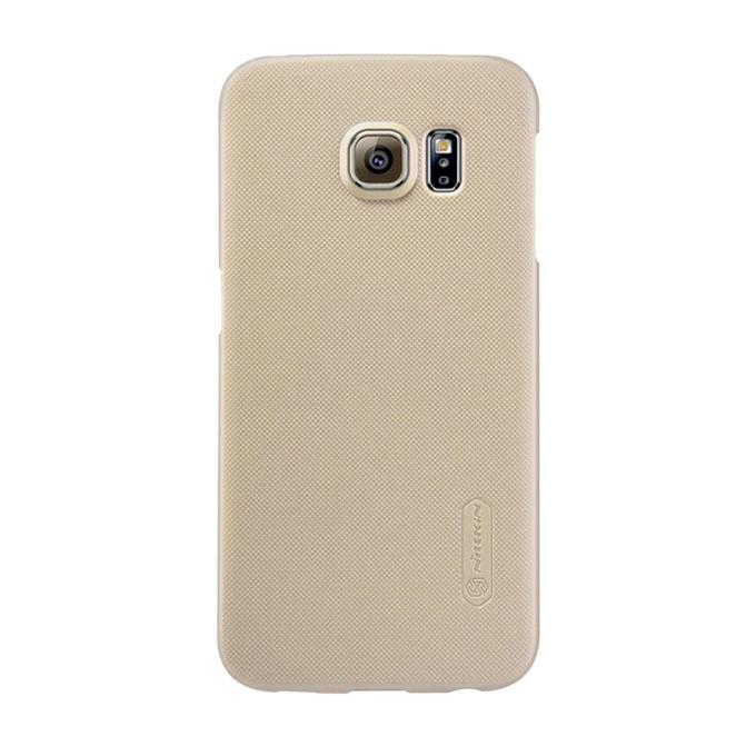 Gold Super Frosted Shield Back Cover for Samsung Galaxy S6 Edge