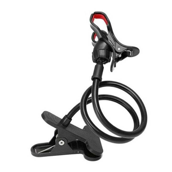 Flexible Twisting Long Stand for Smartphone -Black