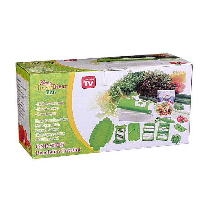 Combo Pack Nicer Dicer Plus and Vegetable Chopper and Meat Tenderizer