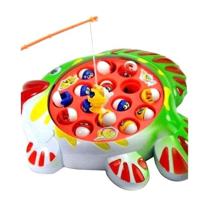 Baby Goods Fishing Fish Game Kids Toy-Multicolor