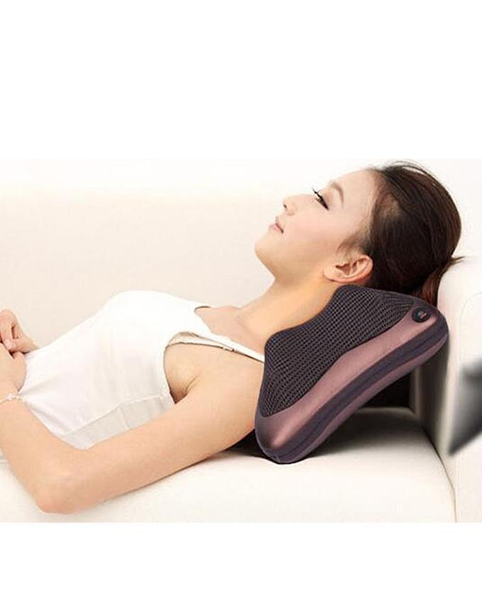 Neck Massage Pillow - Brown