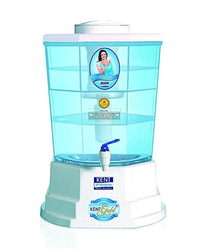 Gold+ Gravity Based Water Purifier 20L - White