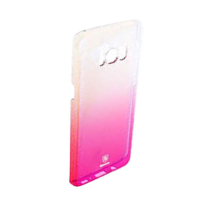 Colorful Gradual Protective Skin PC Hard Back Cover Case For Samsung Galaxy S8 - Pink