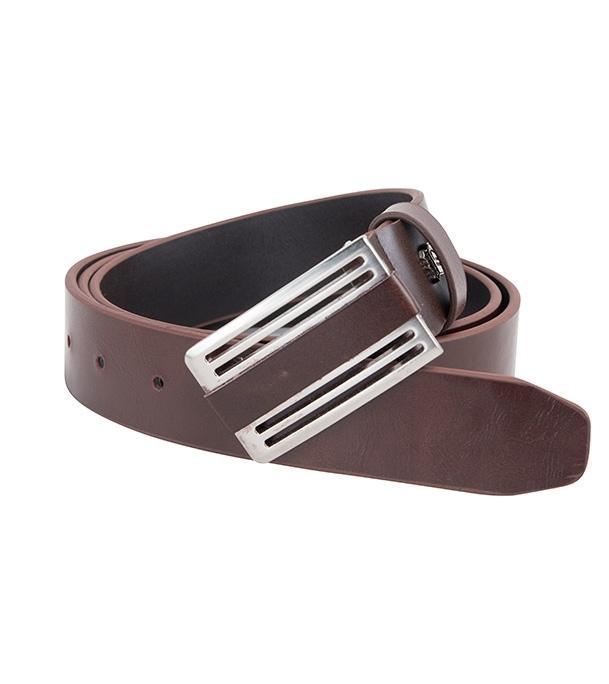 75478 Coffee Formal Belt For Men