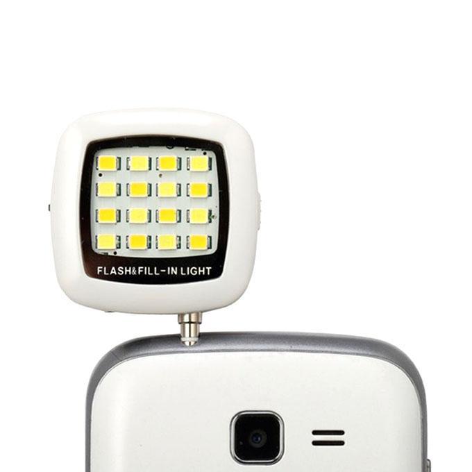 Selfie LED Flash Light  - White