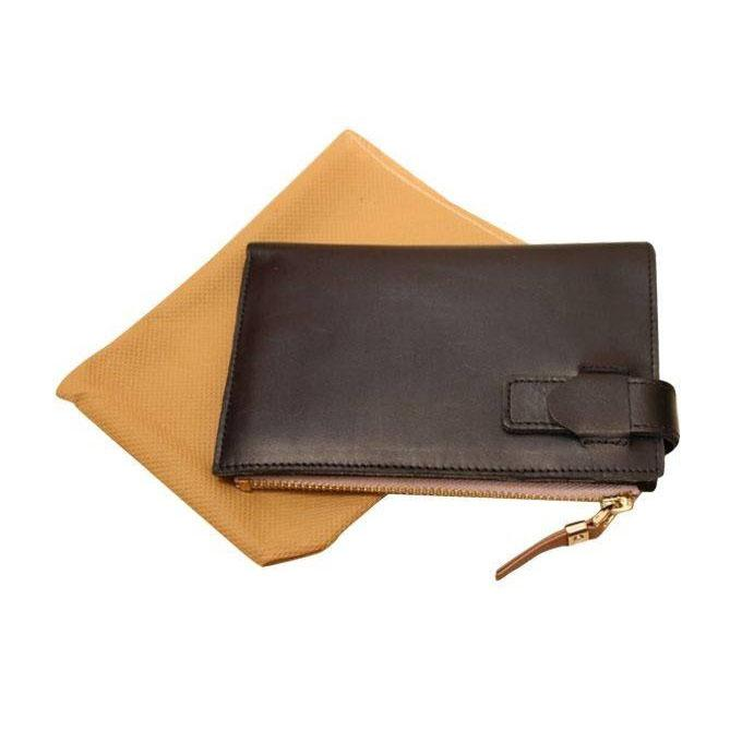 Chocolate Leather Wallet For Men