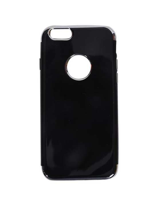 Fashion Case Back Cover For iPhone 6 and 6 plus - Black and Silver