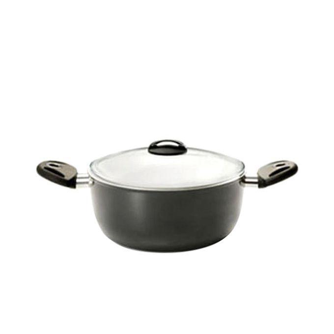 NCTGM230 Cooking Pot Natural W/L 30cm - Silver