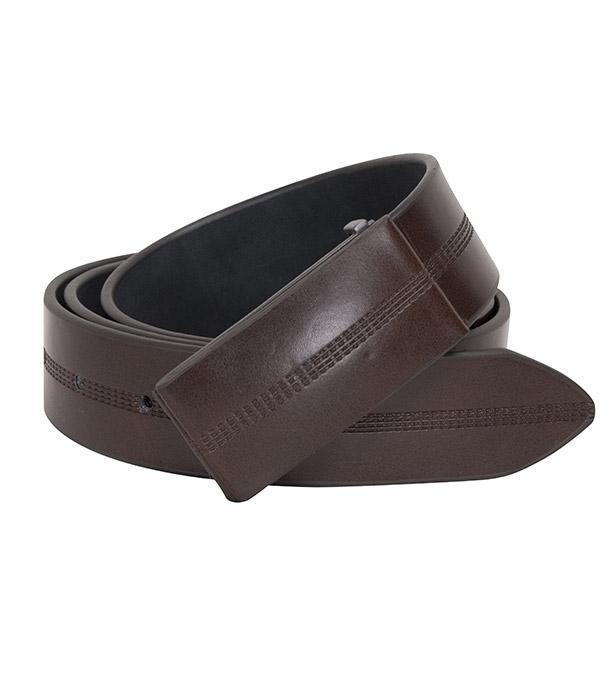 Leather Cover Buckle Formal Belt For Men