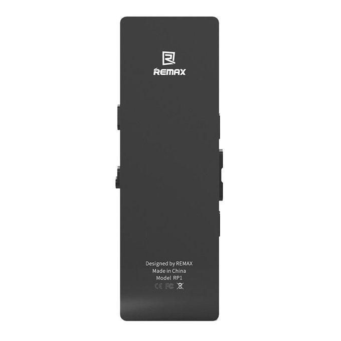 RP1 Digital Voice Recorder MP3 Music Player 8GB - Black