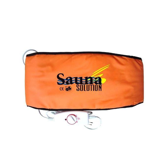 Sauna Solution Massage Belt - Brown
