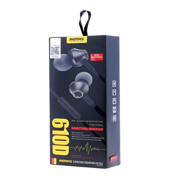 RM-610D Super Bass In-Ear Earphone - Black