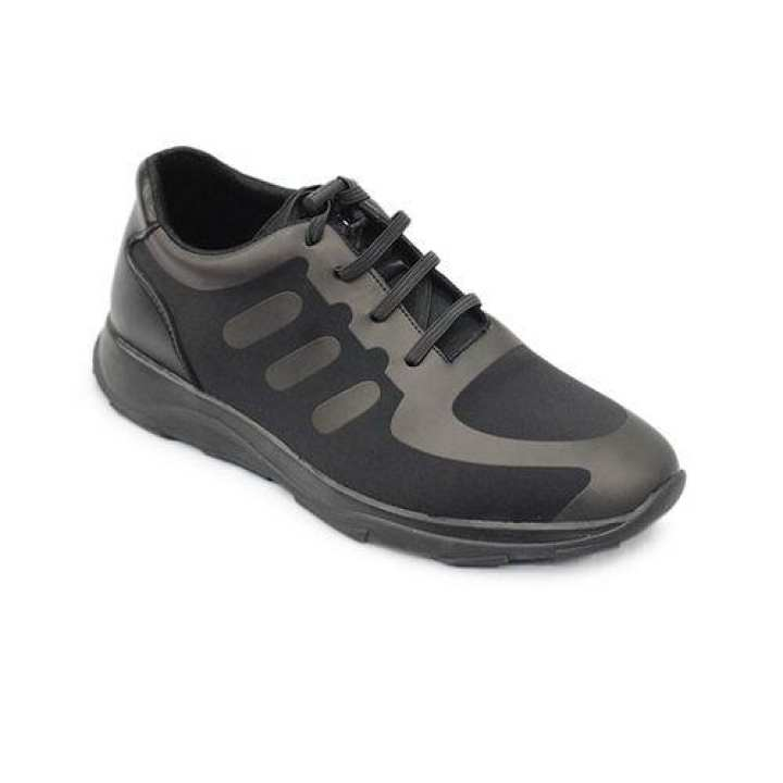 Men's PU Lace Up Shoe - Black