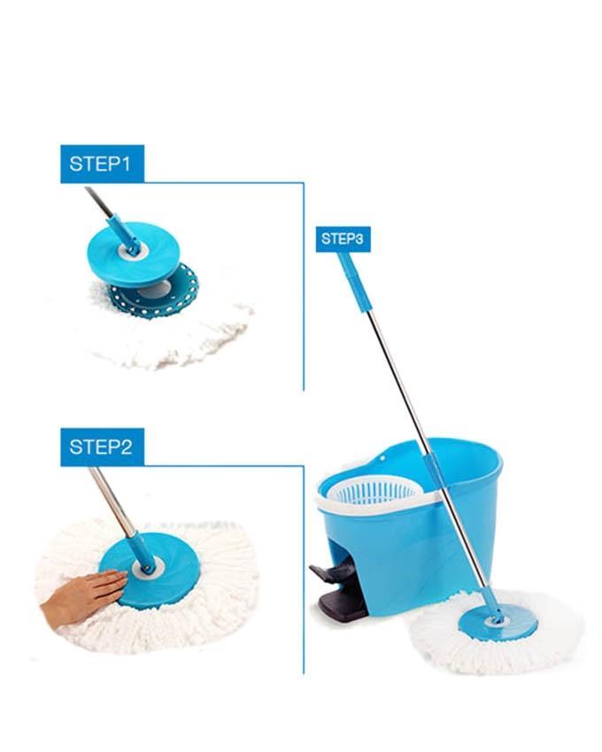 Microfibre Spin Mop