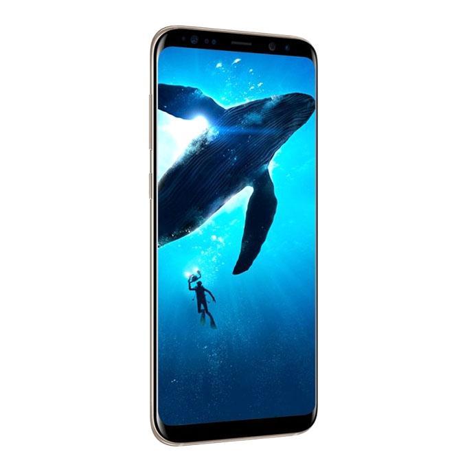 "Galaxy S8 Plus Smartphone 6.2"" - 4GB RAM - 64GB ROM - Gold"