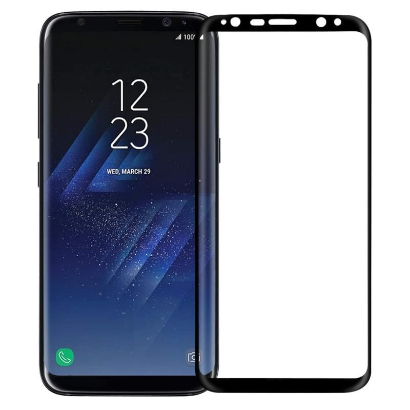 Galaxy S8 Plus Screen Protector Tempered Glass - Black