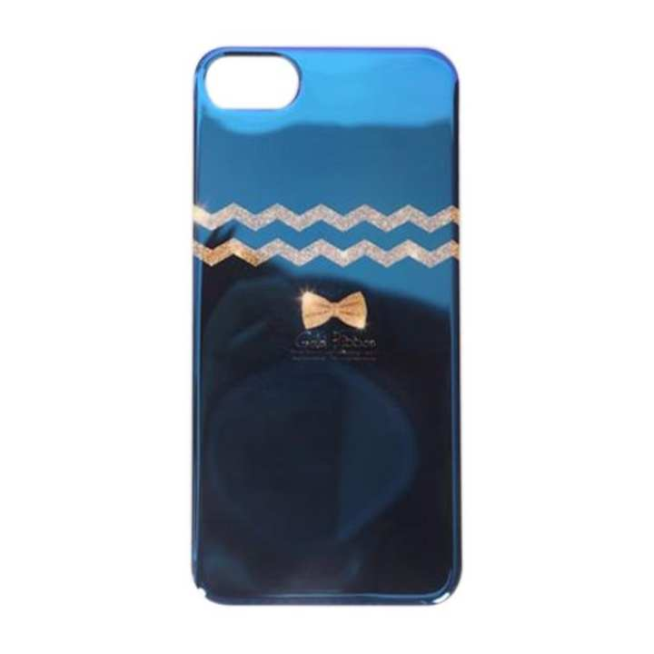 Back Cover For iPhone 7/7 Plus - Blue and Golden